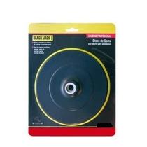 Disco De Borracha Com Velcro 125mm P/ Politriz E Lixadeira