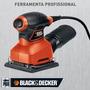 Lixadeira Orbital Profissional 180w - Qs800-black & Decker