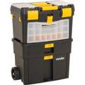 Caixa Organizadora Plástica Porta Ferramentas C/ Roda Vonder