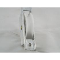 Roldana De Naylon Com Caixa Para Portão De Aluminio 2 Peças