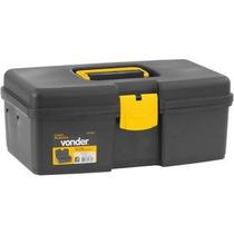 Caixa Plástica/maleta Vd 1002 Com 1 Bandeja Vonder