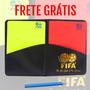 Cartão Juiz Fifa Futebol Soccer Futsal Carteira Bola Uniform