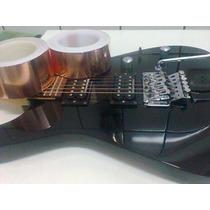 Fita Adesiva De Cobre 5cm Blindagem Guitarra,baixo Importada