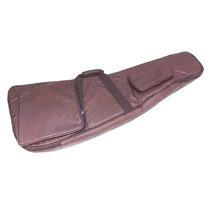 Capa Bag Semi Case Guitarra Explorer Couro Ecológico
