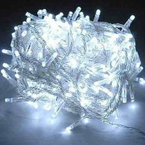 Pisca Pisca Natal 100 Led 110v 9m Lineares 8 Funções Branco