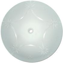 Vidro Lapidado Para Lustre Plafon Ou Luminária