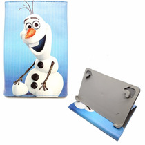 Capa Case Frozen Disney Tablet Até 7 Polegadas Capinha Kids