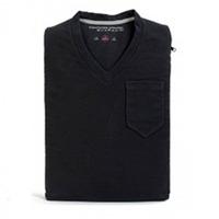 Capa P/ Ipad Ou Tablet V-neck Sleeve (camiseta Gola V) Preta