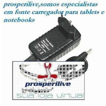 Fonte Carregador Tablet Powerpack Net-ip805 9volts 3,5mm