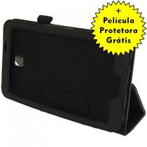 Capa Case Couro Tablet Samsung Galaxy Tab 3 7.0 + Película