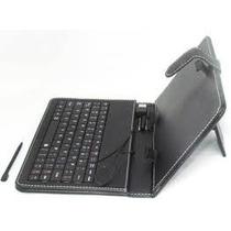 Capa Case De Couro Com Teclado Usb Para Tablet 7polegadas