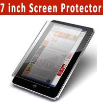 Película Universal 7 Pol Tablet Gps Celular Frete Grátis