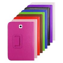 Capa Case Couro Tablet Samsung Galaxy Tab3 7 Película Grátis