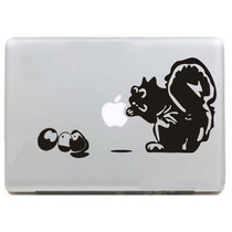 Adesivo Esquilo Para Ipad Macbook Apple Notebook Tablet Skin