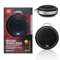 Caixa De Som Bluetooth - Jbl Micro Wireless Branca Portátil