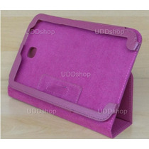 Capa Case Capinha Vinho Lisa Tablet Dell Venue 8.0 Polegadas