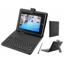Capa C/ Teclado Para Tablet 8 Cap.009