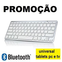 Mini Teclado Bluetooth Universal Tablet Pcs Tvs Android