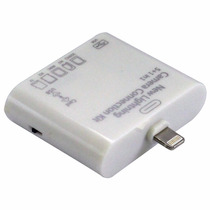 Adaptador Usb Micro Sd Ssdcard Tf Para Ipad 4 Lightning Ipho
