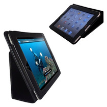 Capa Case Couro Tablet Apple Ipad 2 3 4 C/ Película Brinde
