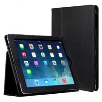 Capa Case Couro Tablet Apple Ipad 5 Air + Película Brinde