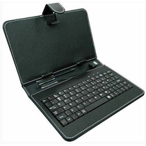 Capa Case Couro Tablet 7 Polegadas Teclado Usb +frete Gratis
