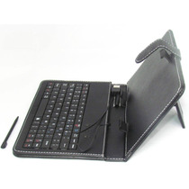 Kit Capa Com Teclado Usb Para Tablet 7 Cce Dl Foston Genesis