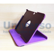 Capa Case Giratória 360º Roxa Tablet Samsung Galaxy Tab4 10.