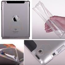 Capa Tpu Transparente Ipad Air 2 Case Silicone + Película