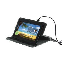 Capa Para Tablet 7 Com Bateria De Emergência Bateria Acopl