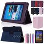 Bag Case Capa Samsung Galaxy Tab 2 P3100 P3110 Em Couro Sint