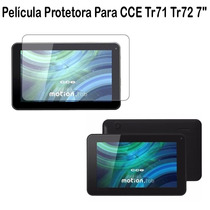 Película Protetora Para Tablet Cce Tr71 Tr72 7 Polegadas.