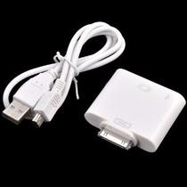 Adaptador Hdmi- Conversão- Iphone 4/ Ipad/ Ipod