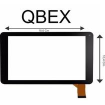 Tela Touch Tablet Vidro Qbex Txm-785i 785 Intel Inside Preto