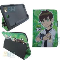 Capa Carteira Ben 10 P/ Tablet Samsung Galaxy Tab E 9.6 T560