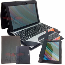 Capa Case Couro Tablet Notebook 2 Em 1 Positivo Zx3040 10.1
