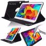 Capa P/ Samsung Galaxy Tab 4 10.1 T530 + Película De Vidro
