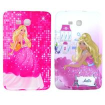 Capa Silicone Barbie Para Tablet Samsung Galaxy Tab E T113.