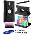 Kit Capa E Acessórios Galaxy Tab S 8.4 Sm T705m T700 Pel Can