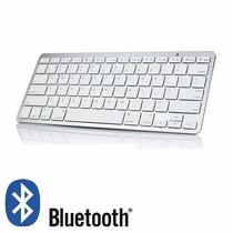 Teclado Bluetooth Celular Ou Tablet Hp Padrão Mac Android