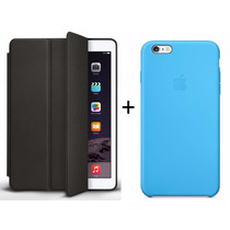 Smart Case Apple Ipad Air 2 + Capa Couro Iphone 6 (4.7)