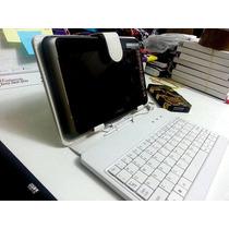 Capa Tablet 7 Polegadas Universal C/ Teclado Usb + Caneta