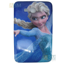 Capa Silicone Frozen Para Tablet Samsung Tab 3 Lite T110.