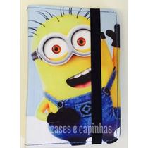 Capa Case Universal Tablet 7 Poleg Minions Ipad Mini