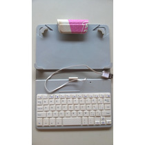 Capa Dura Barbie Tablet 7 Pol. C/ Teclado Usb