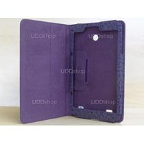 Capa Case Desenhos Roxa Tablet Lg G Pad V480 Android 8.0 Pol