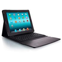 Capa Case Com Teclado Bluetooth Para Apple Ipad 2 E 3 Com Ç