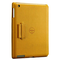 Capa Para Ipad 3ª Geração Icoat Notebook Amarelo Ozaki