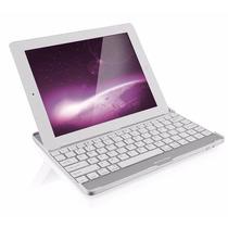 Teclado Para Ipad2 E Ipad3 Sem Fio Mini Bluetooth Branco
