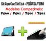 Kit Capa Case Tablet Samsung Tab E 9.6 T560 + Película Vidro